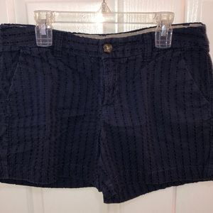 Dotted Navy Shorts
